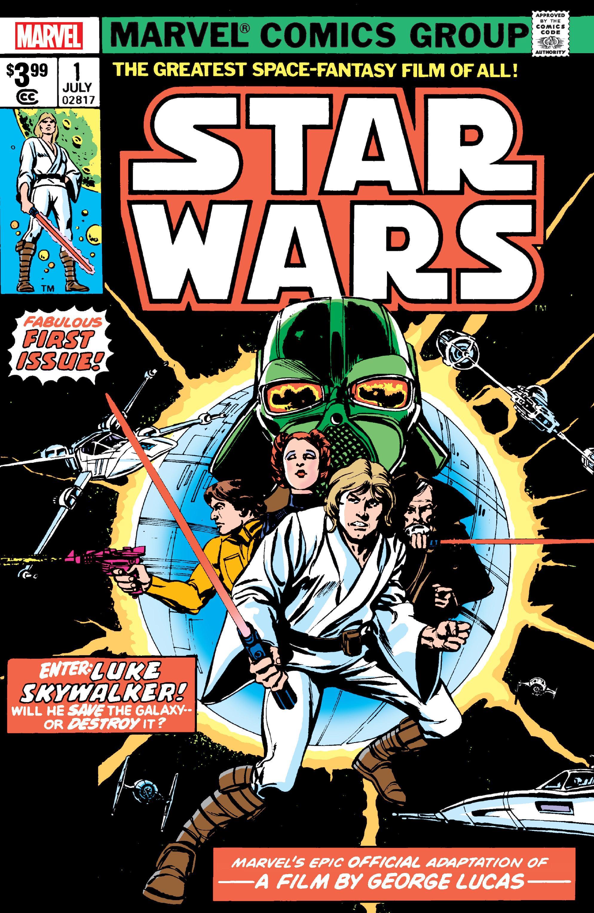 Star Wars #1 (Facsimile Edition) (04.12.2019)