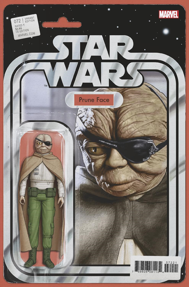 Star Wars #72 (Action Figure Variant Cover) (02.10.2019)