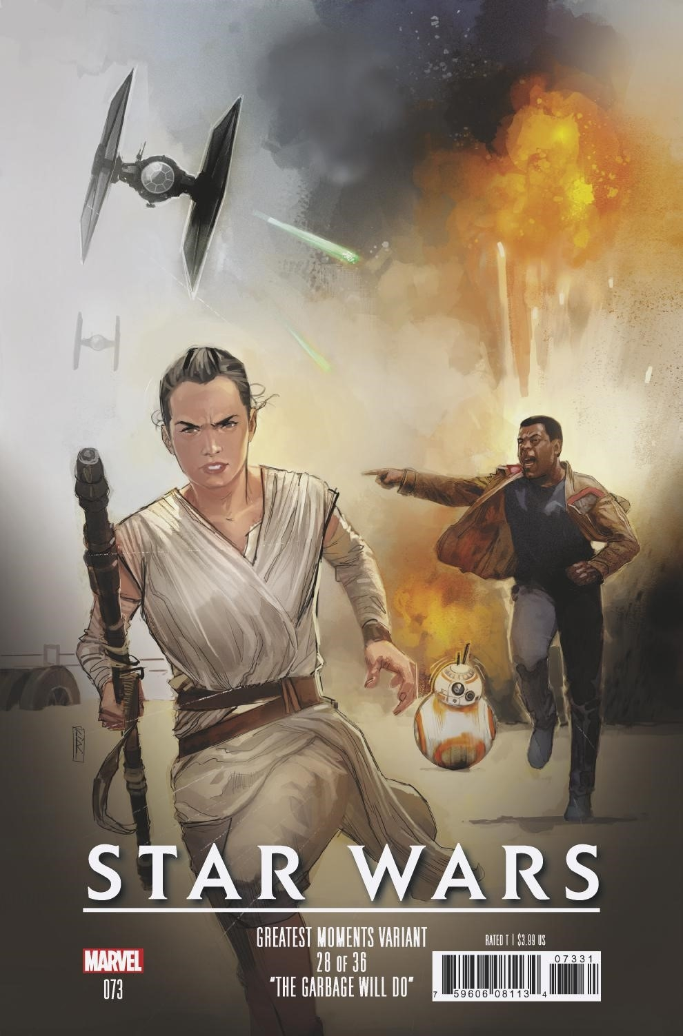 Star Wars #73 (Rod Reis Greatest Moments Variant Cover 28 of 36) (23.10.2019)