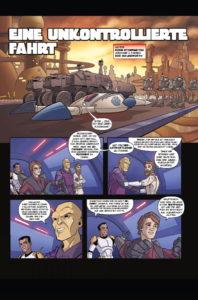 The Clone Wars: Eine unkontrollierte Fahrt