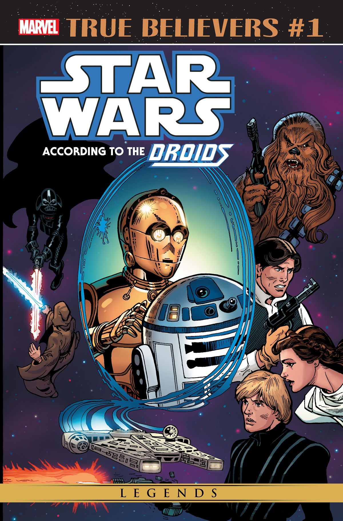 True Believers: Star Wars According to the Droids #1 (04.12.2019)