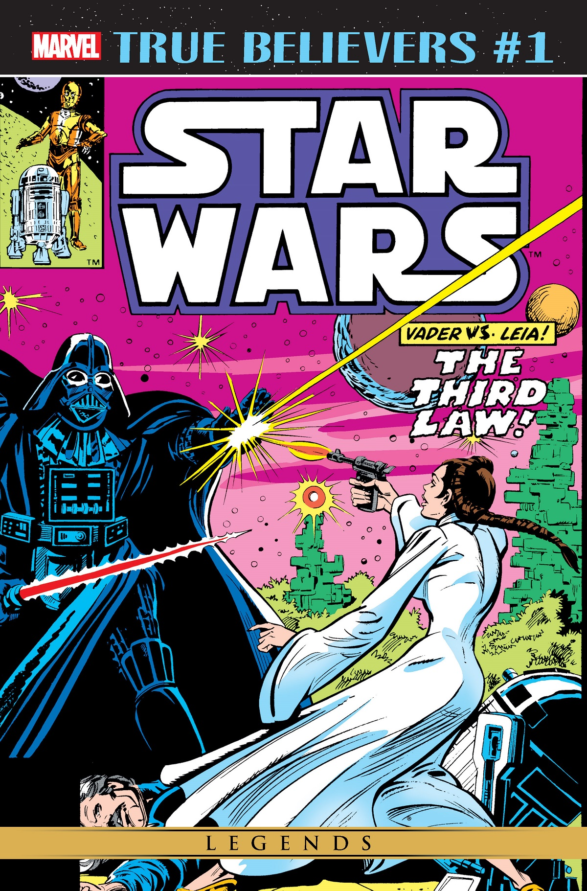 True Believers: Star Wars: Vader vs. Leia #1 (04.12.2019)
