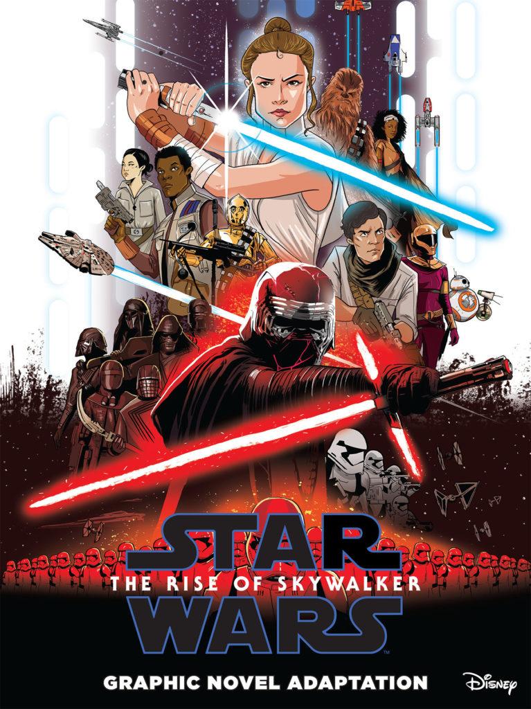 """<a href=""""https://jedi-bibliothek.de/datenbank/ausgabe/the-rise-of-skywalker-9781684056866/""""><em>Star Wars: The Rise of Skywalker - Graphic Novel Adaptation</em></a> (02.03.2021)"""