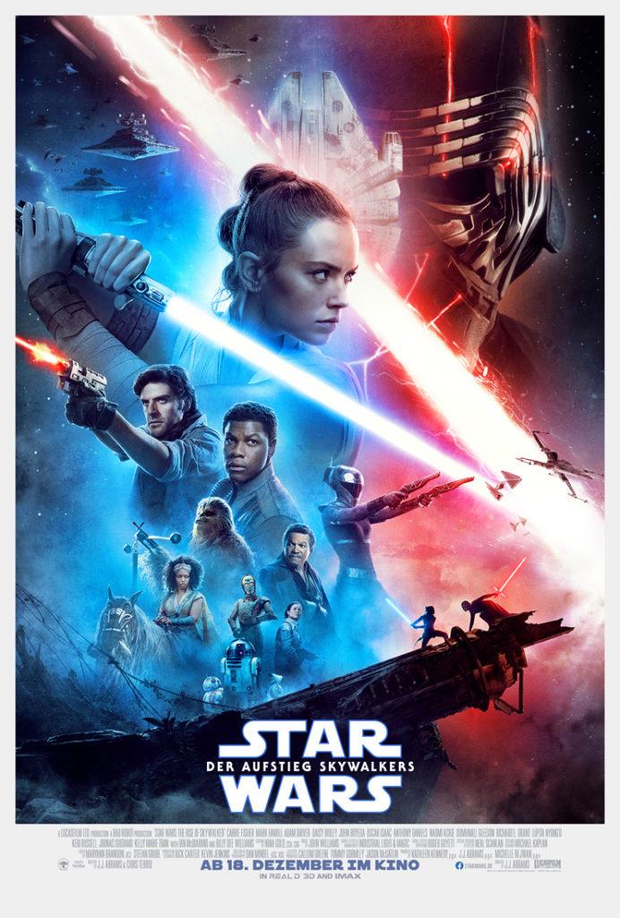 Deutsches Filmplakat zu Der Aufstieg Skywalkers