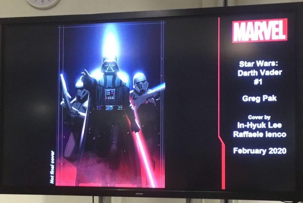 <em>Darth Vader</em> (Februar 2020)