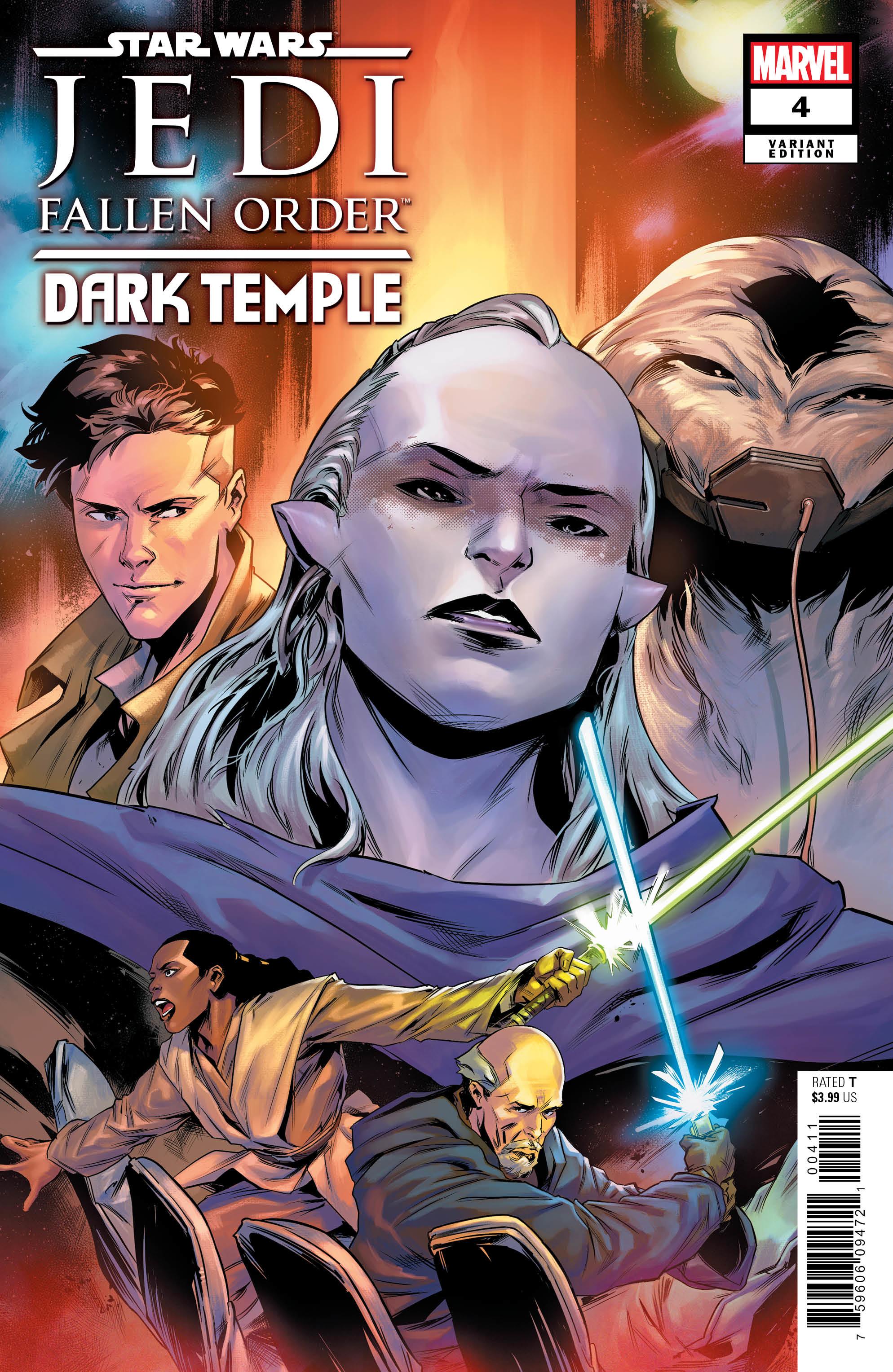 Jedi: Fallen Order: Dark Temple #4 (Paolo Villanelli Variant Cover) (13.11.2019)