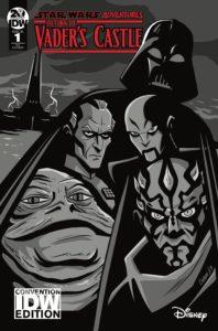 Return to Vader's Castle #1 (Derek Charm Black & White Convention Variant Cover) (03.10.2019)