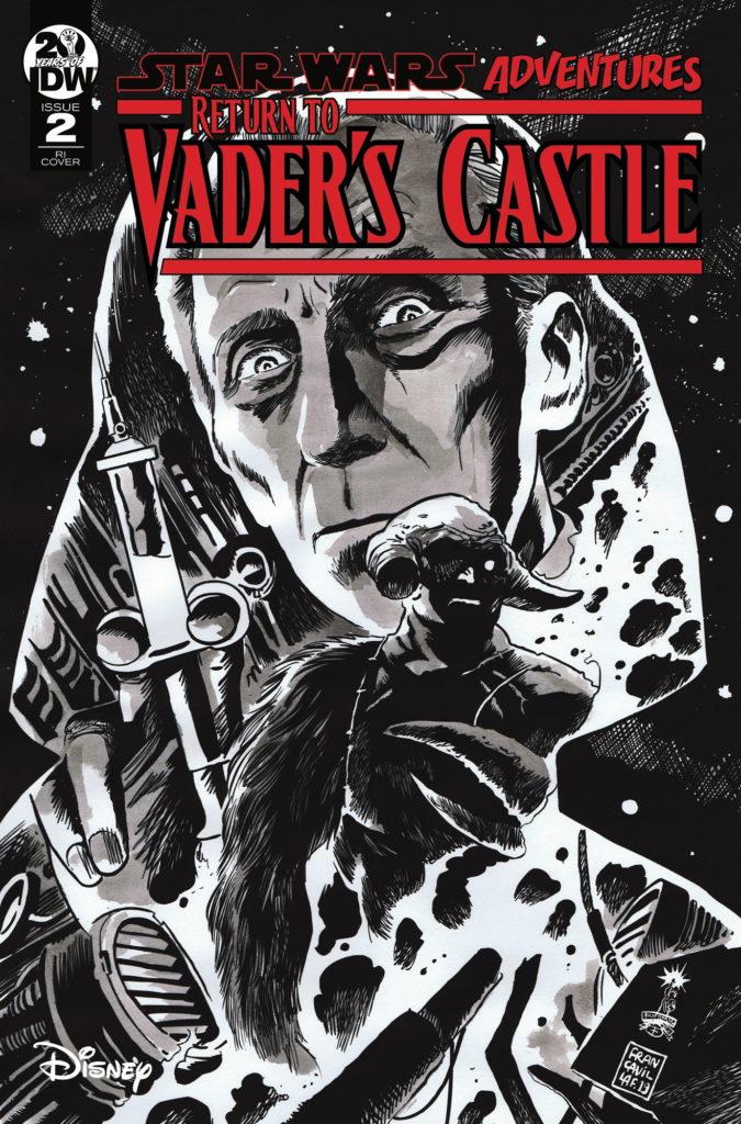 Return to Vader's Castle #2 (Francesco Francavilla Black & White Variant Cover) (09.10.2019)