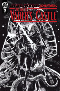 Return to Vader's Castle #3 (Francesco Francavilla Black & White Variant Cover) (16.10.2019)