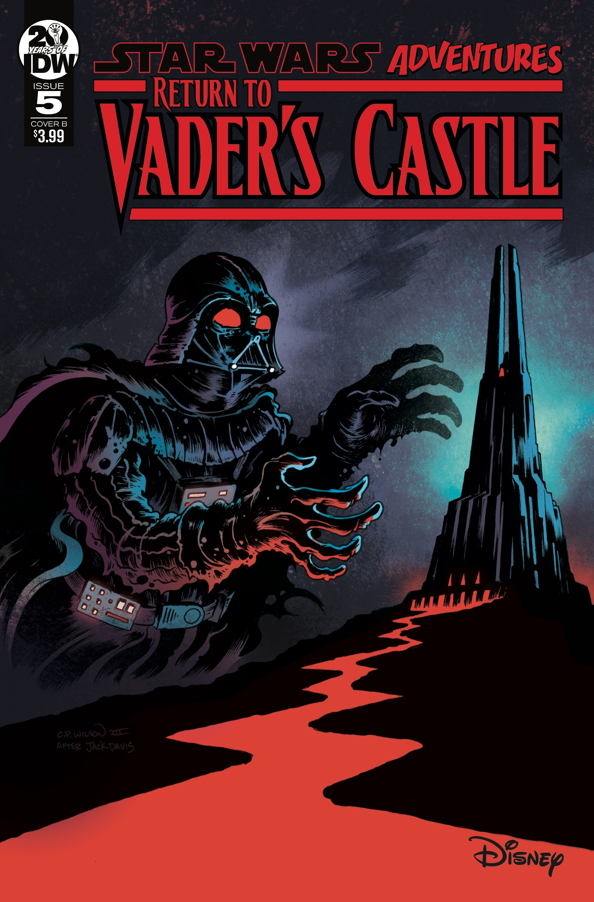 Return to Vader's Castle #5 (Cover B by Charles Paul Wilson III) (30.10.2019)