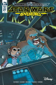 Star Wars Adventures #27 (Manuel Bracchi Variant Cover) (30.10.2019)
