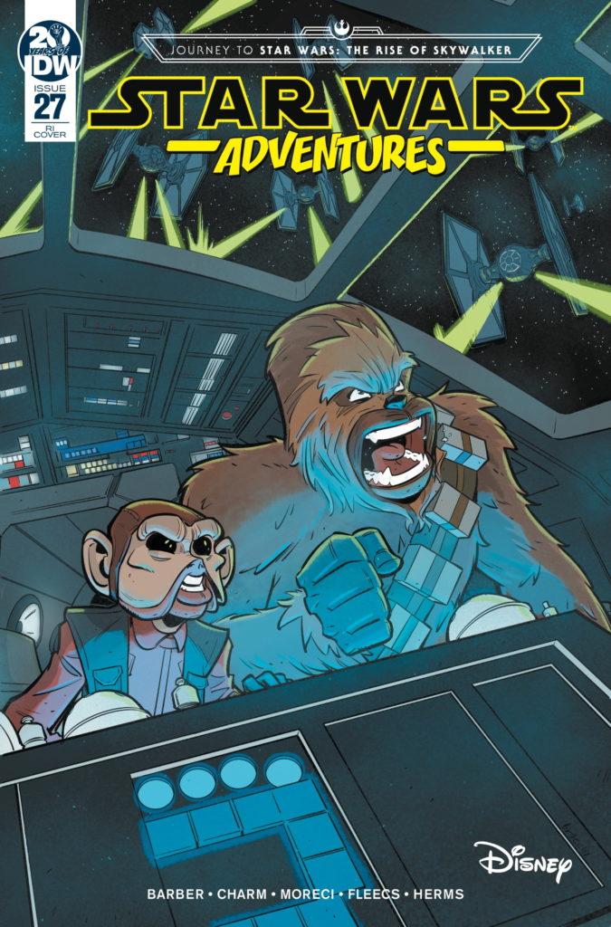 Star Wars Adventures #27 (Manuel Bracchi Variant Cover) (30.10.2019)