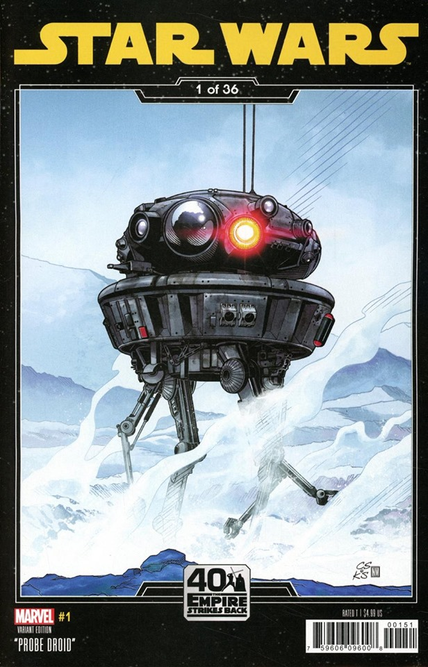 Star Wars #1 (Chris Sprouse Empire Strikes Back Variant Cover) (01.01.2020)