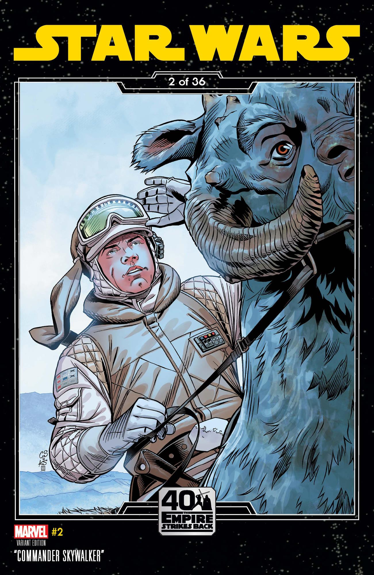 Star Wars #2 (Chris Sprouse Empire Strikes Back Variant Cover) (29.01.2020)