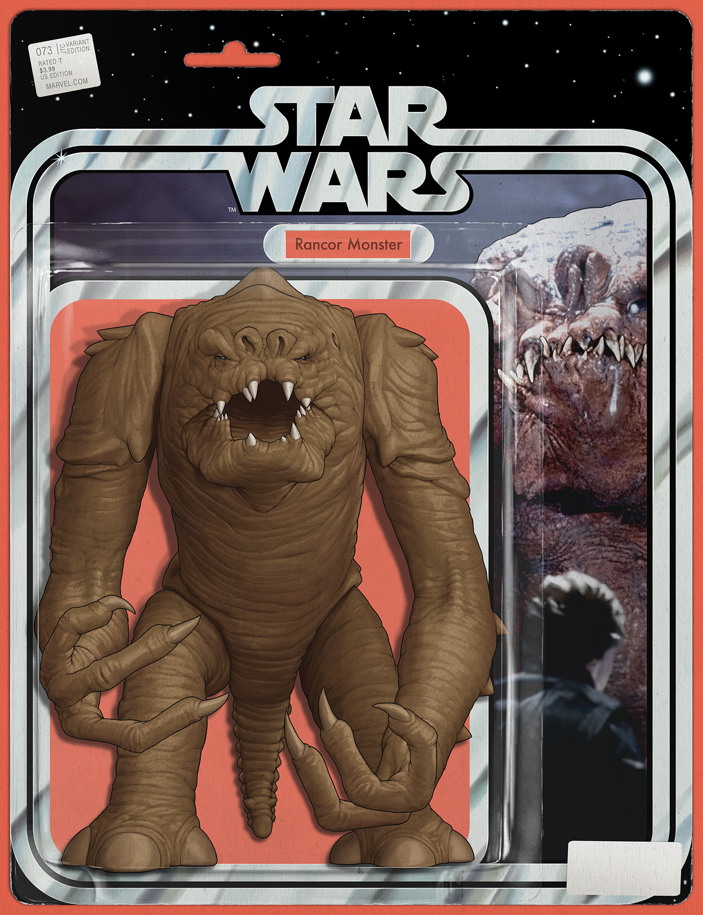"Star Wars #73 (JTC ""Rancor"" Wraparound Action Figure Variant Cover) (07.11.2019)"