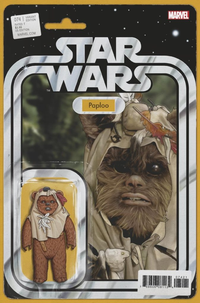 Star Wars #74 (Action Figure Variant Cover) (13.11.2019)