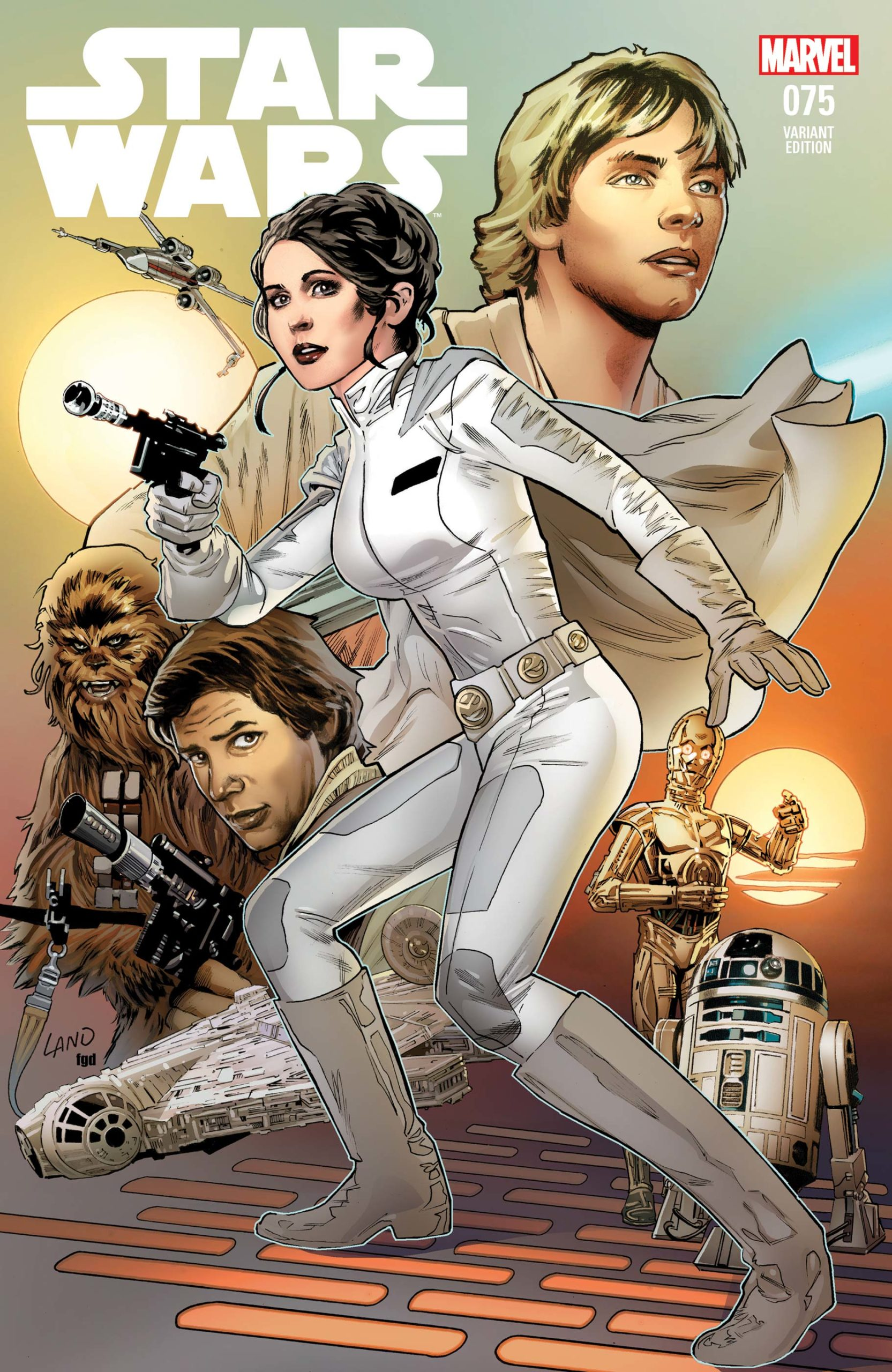 Star Wars #75 (Greg Land Variant Cover) (20.11.2019)