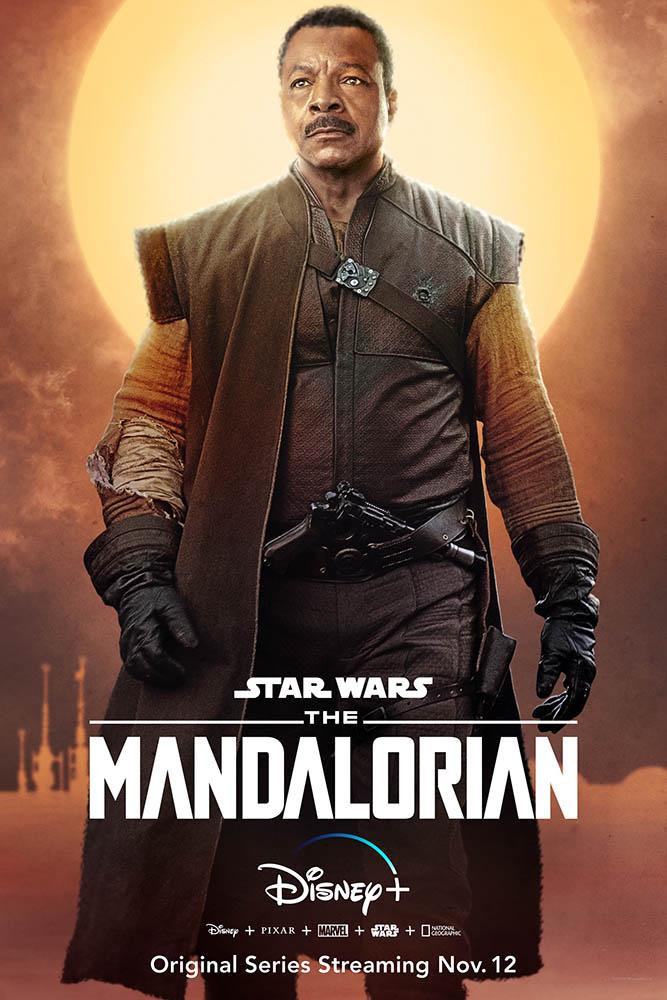 The Mandalorian Charakter-Poster Greef Carga