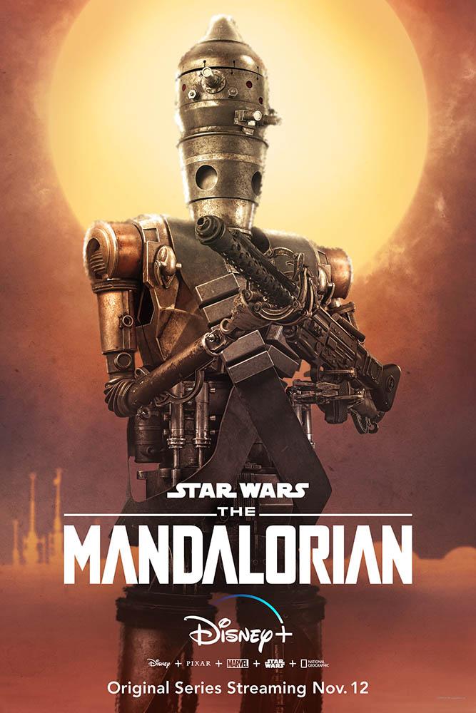 The Mandalorian Charakter-Poster IG-88