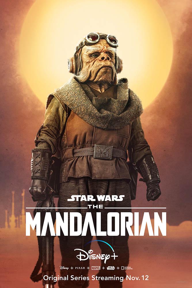 The Mandalorian Charakter-Poster Kuiil