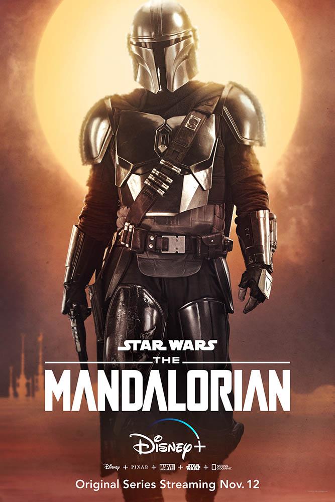 The Mandalorian Charakter-Poster Mandalorianer