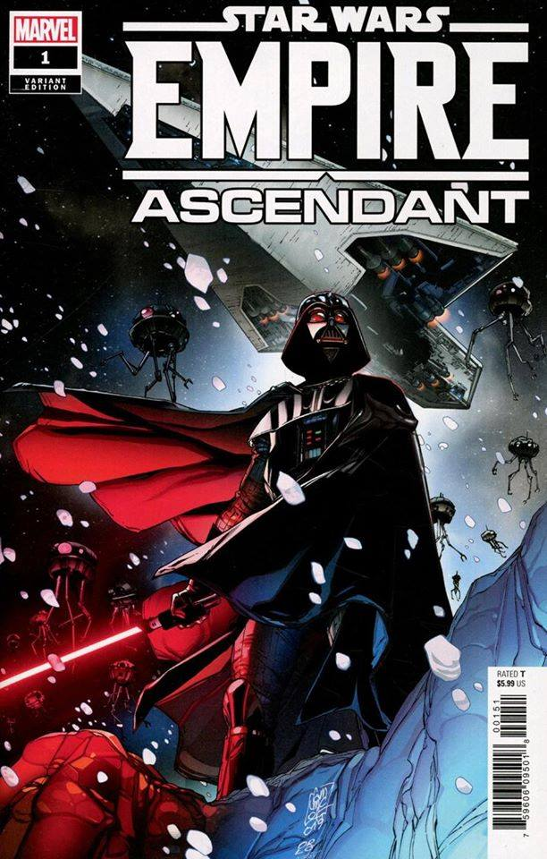 Empire Ascendant #1 (Giuseppe Camuncoli Variant Cover) (18.12.2019)
