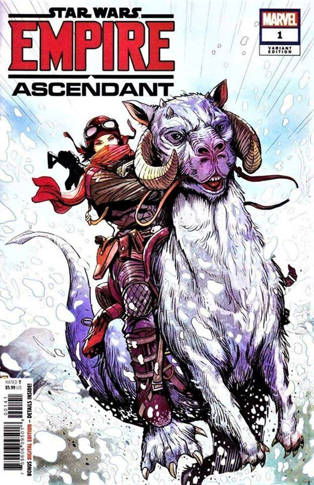 Empire Ascendant #1 (Patrick Zircher Variant Cover) (18.12.2019)
