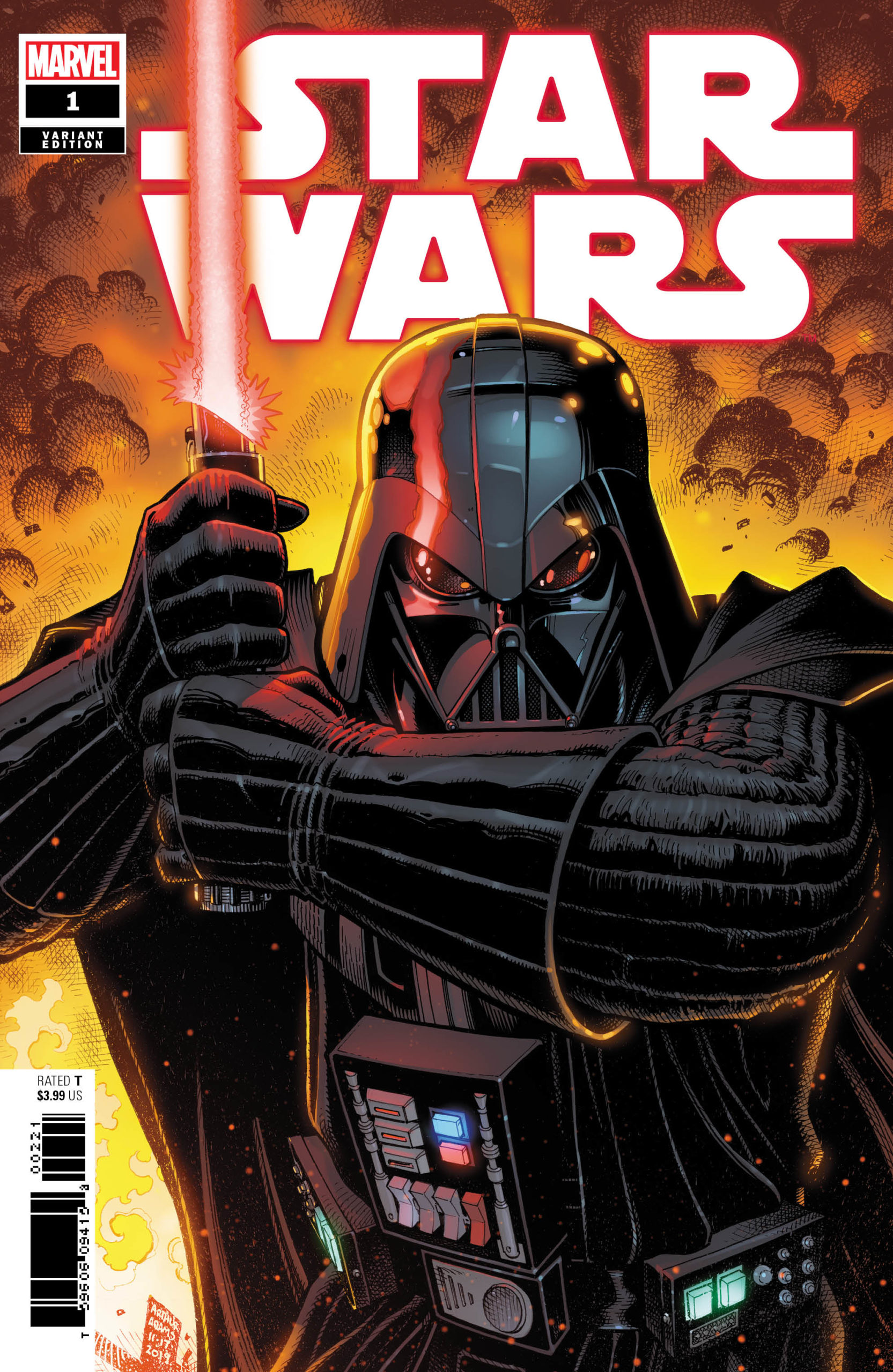 Star Wars #1 (Arthur Adams Variant Cover) (01.01.2020)