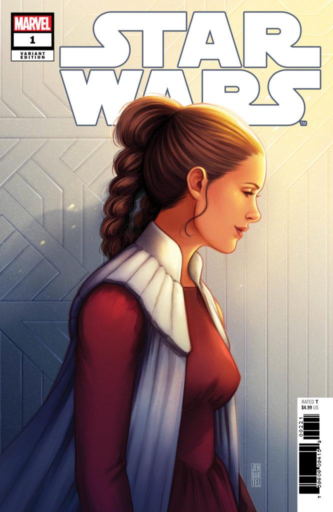 Star Wars #1 (Jen Bartel Leia Variant Cover) (01.01.2020)