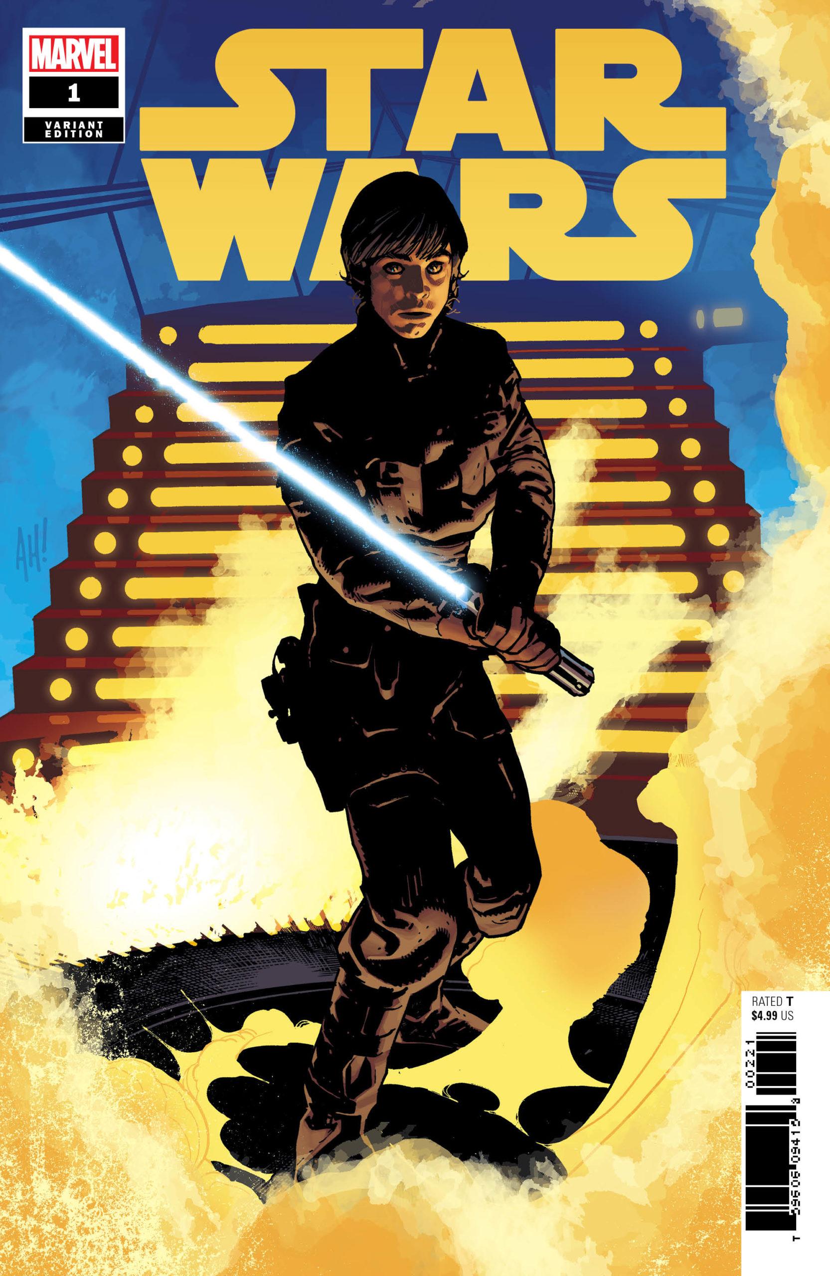 Star Wars #1 (Adam Hughes Luke Variant Cover) (01.01.2020)