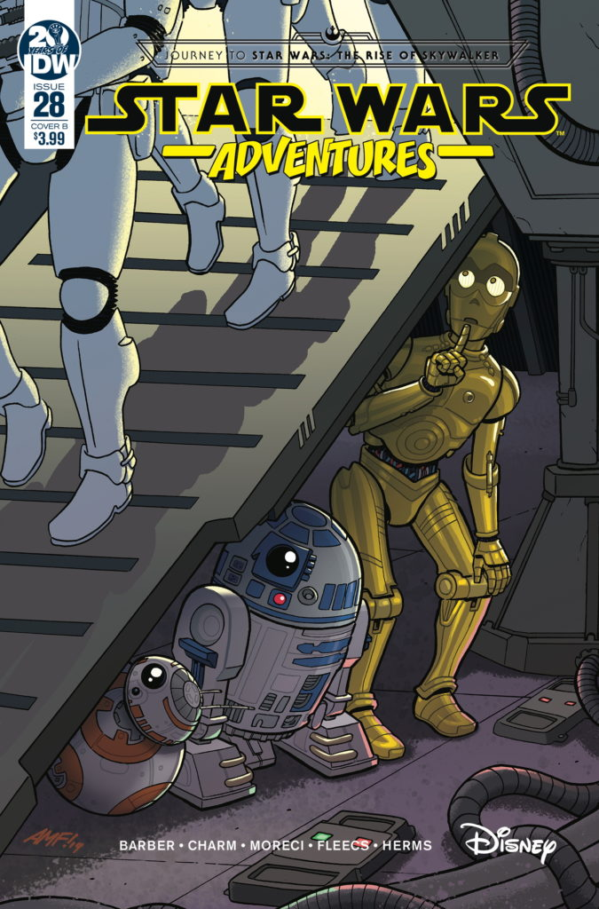 Star Wars Adventures #28 (Cover B by Tony Fleecs) (27.11.2019)