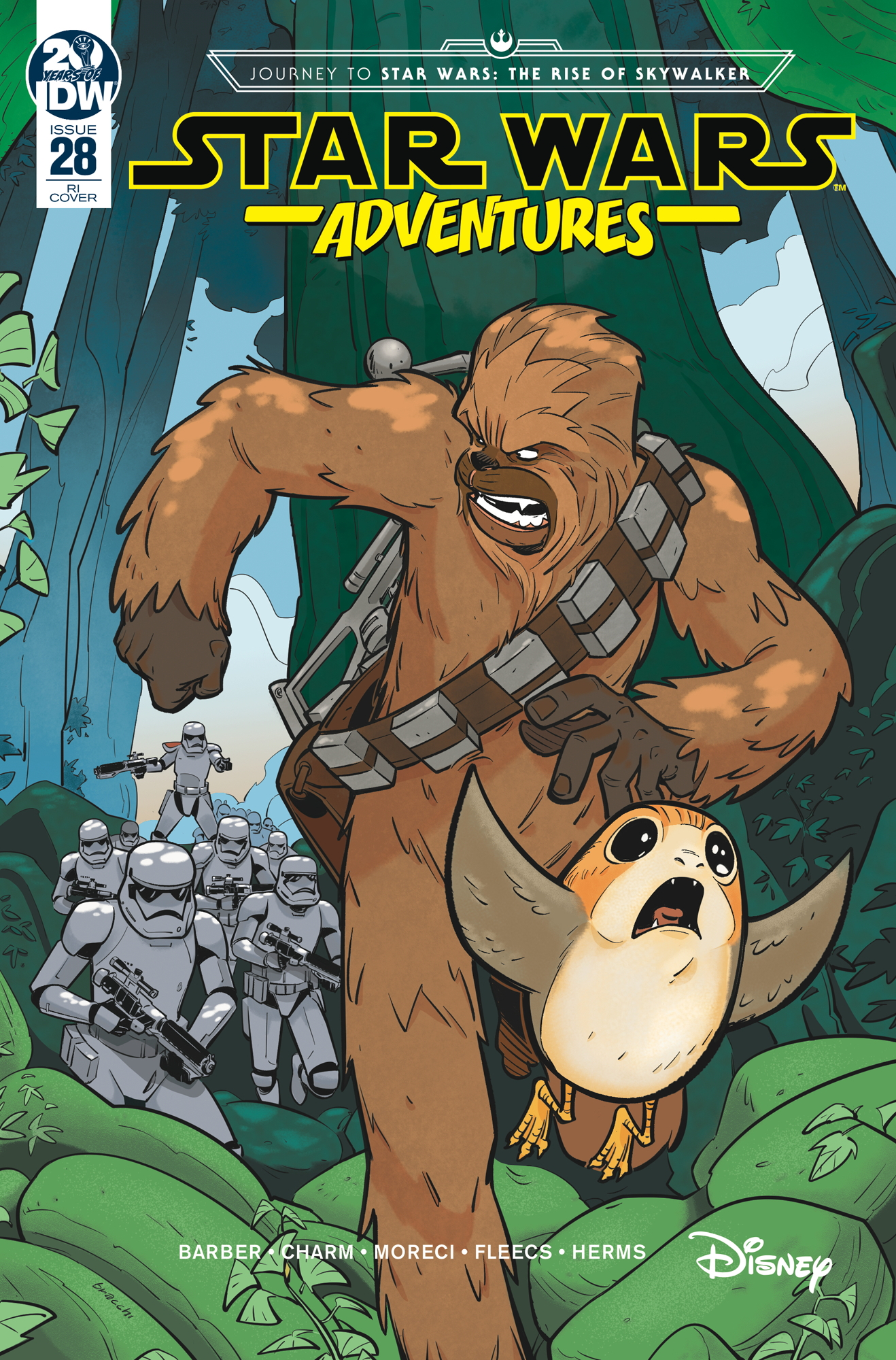 Star Wars Adventures #28 (Manuel Bracchi Variant Cover) (27.11.2019)