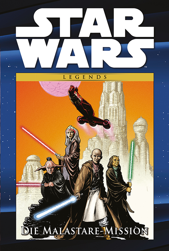 Star Wars Comic-Kollektion, Band 97: Die Malastare-Mission (12.05.2020)
