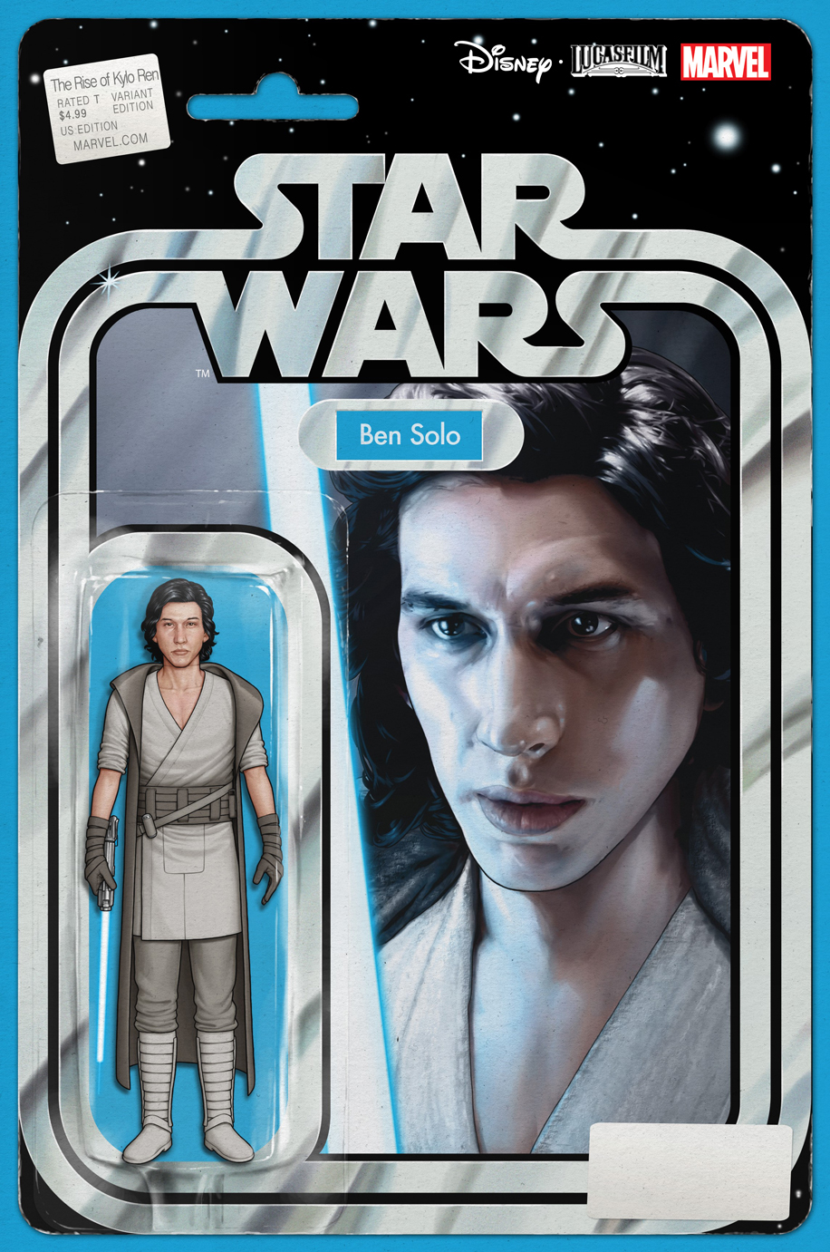 The Rise of Kylo Ren #1 (Action Figure Variant Cover) (18.12.2019)