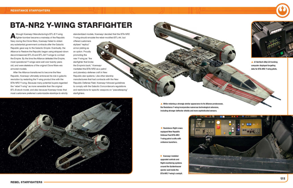 Rebel Starfighters: Owners' Workshop Manual – Alliance and Resistance Models - Seiten 110-111
