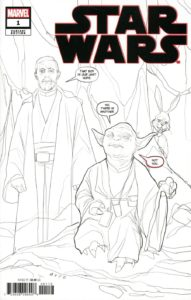 Star Wars #1 (Phil Noto Party Sketch Variant Cover) (01.01.2020)