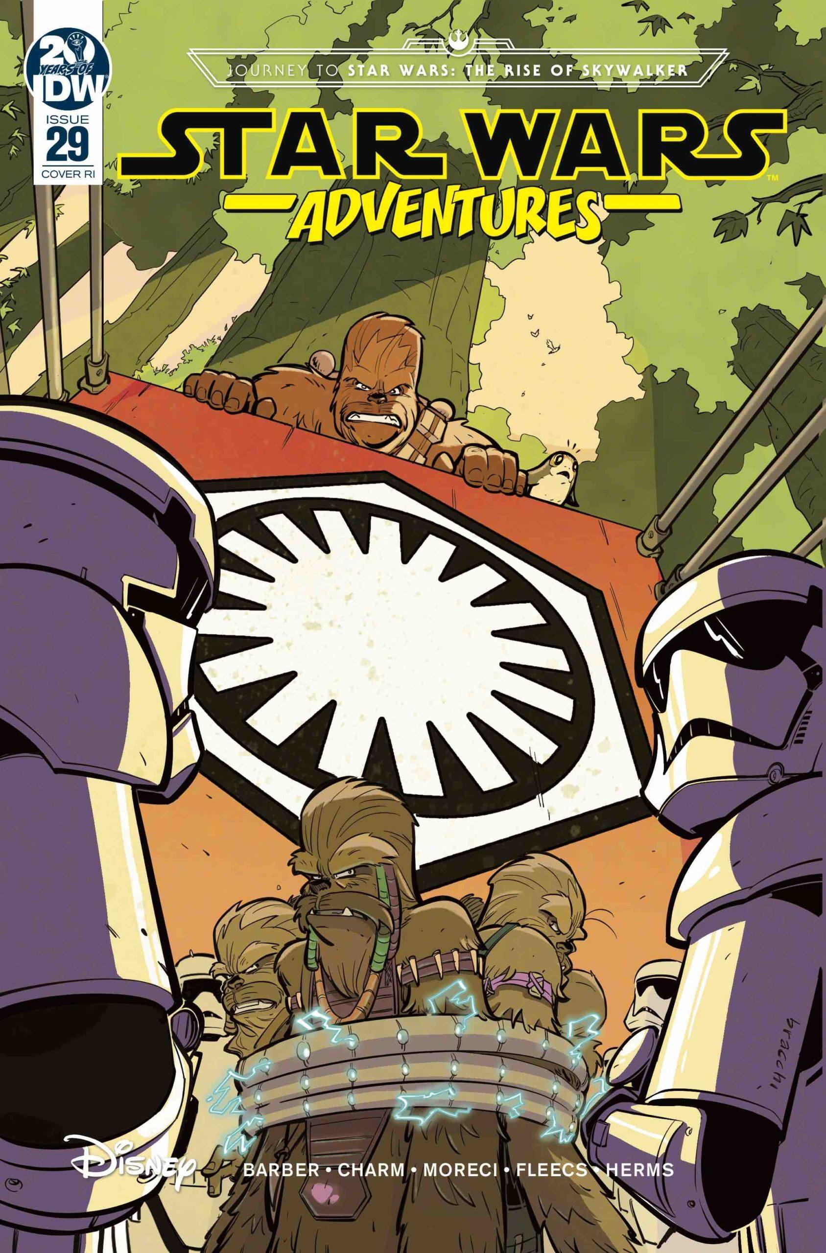 Star Wars Adventures #29 (Manuel Bracchi Variant Cover) (18.12.2019)