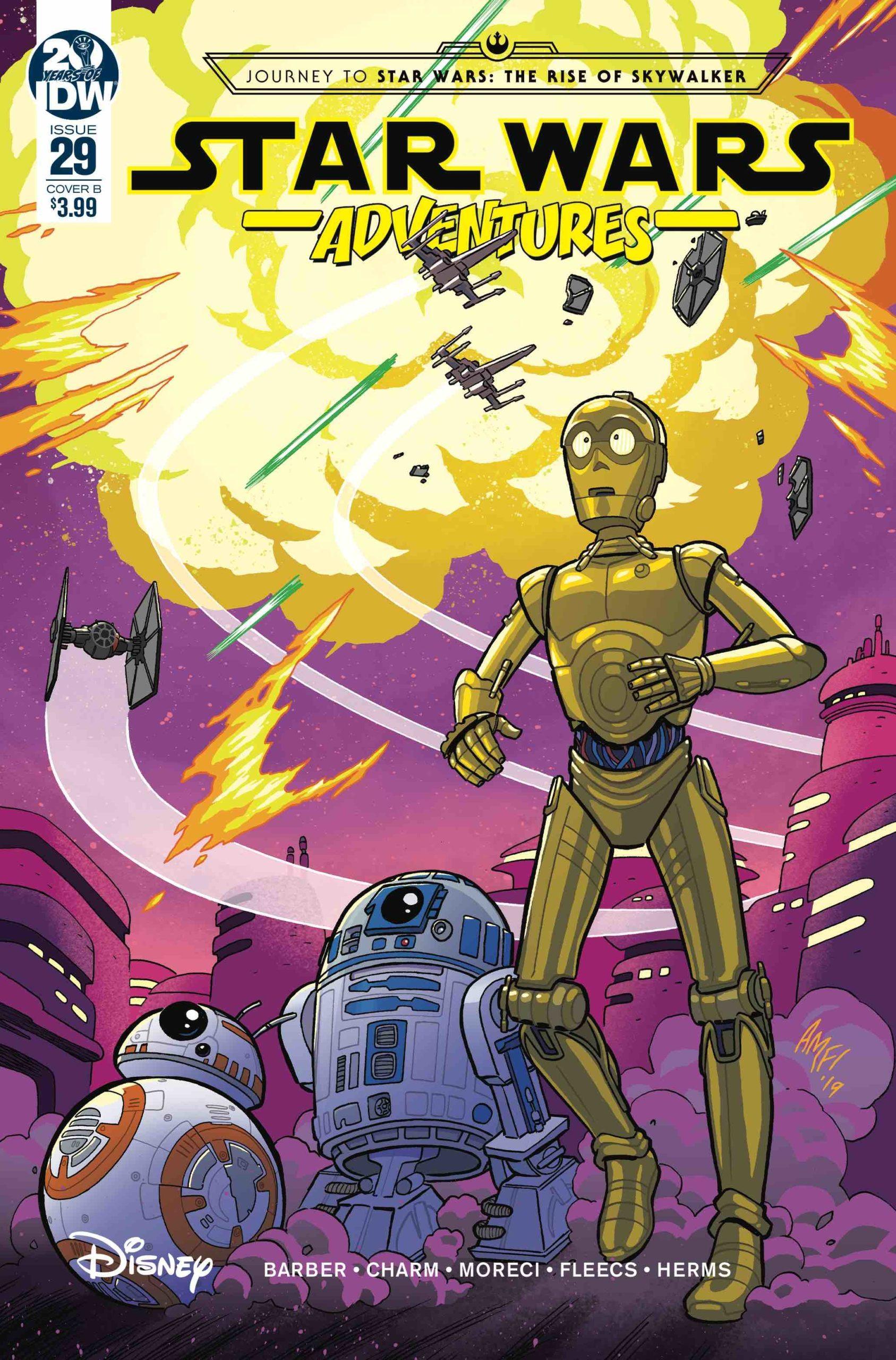 Star Wars Adventures #29 (Cover B by Tony Fleecs) (18.12.2019)