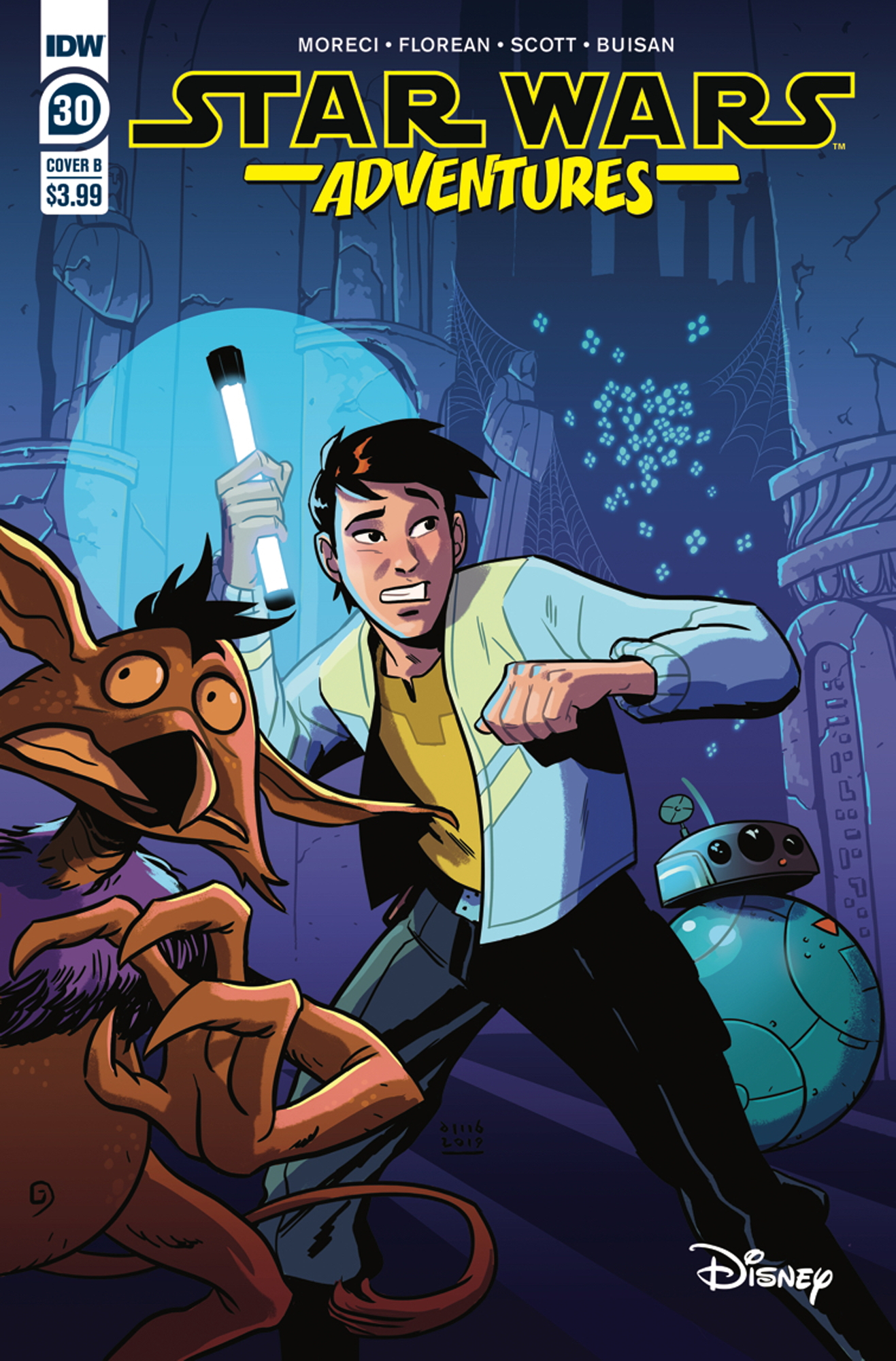 Star Wars Adventures #30 (Cover B by David M. Buisán) (15.01.2020)