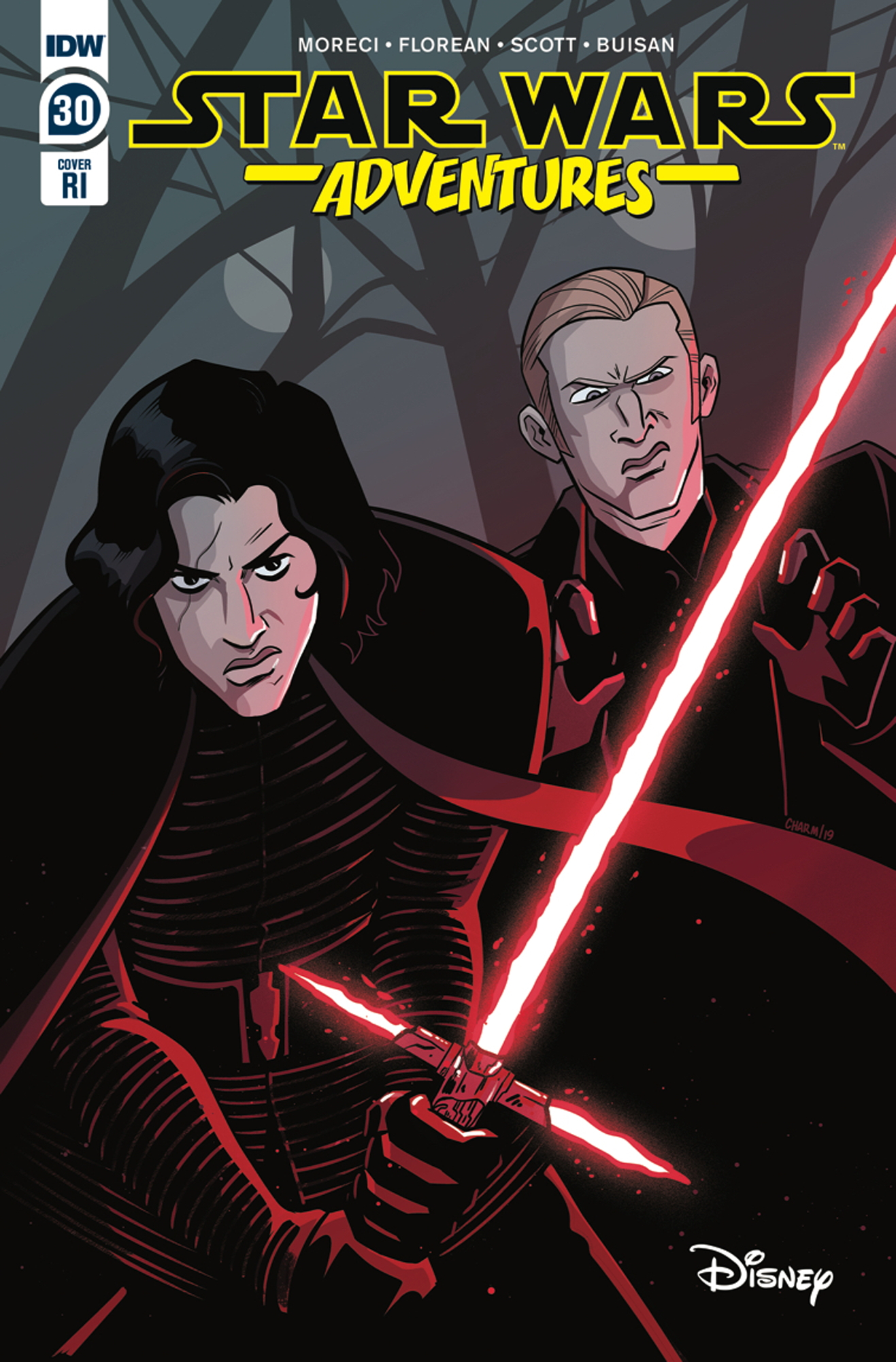 Star Wars Adventures #30 (Derek Charm Variant Cover) (15.01.2020)