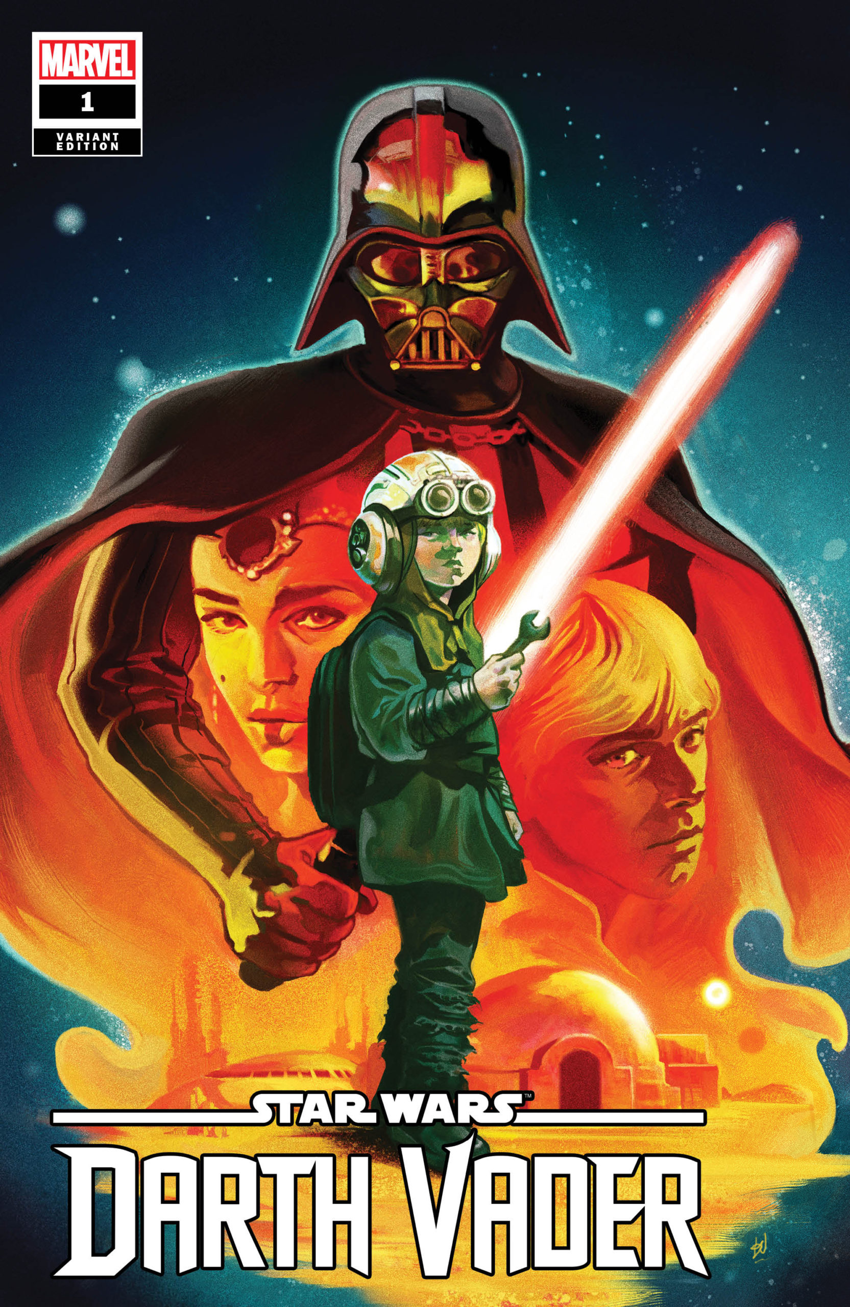 Darth Vader #1 (Mike del Mundo Variant Cover) (05.02.2020)