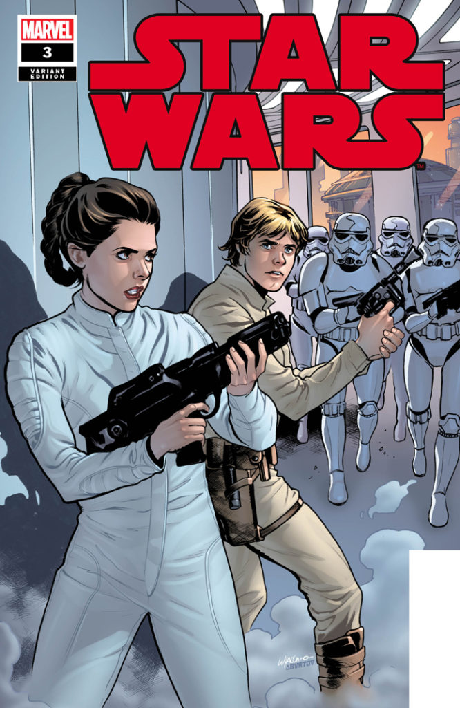 Star Wars #3 (Emanuela Lupacchino Variant Cover) (26.02.2020)