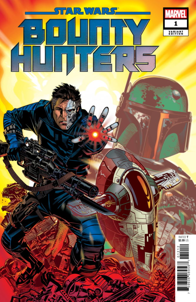 Bounty Hunters #1 (Michael Golden Variant Cover) (11.03.2020)