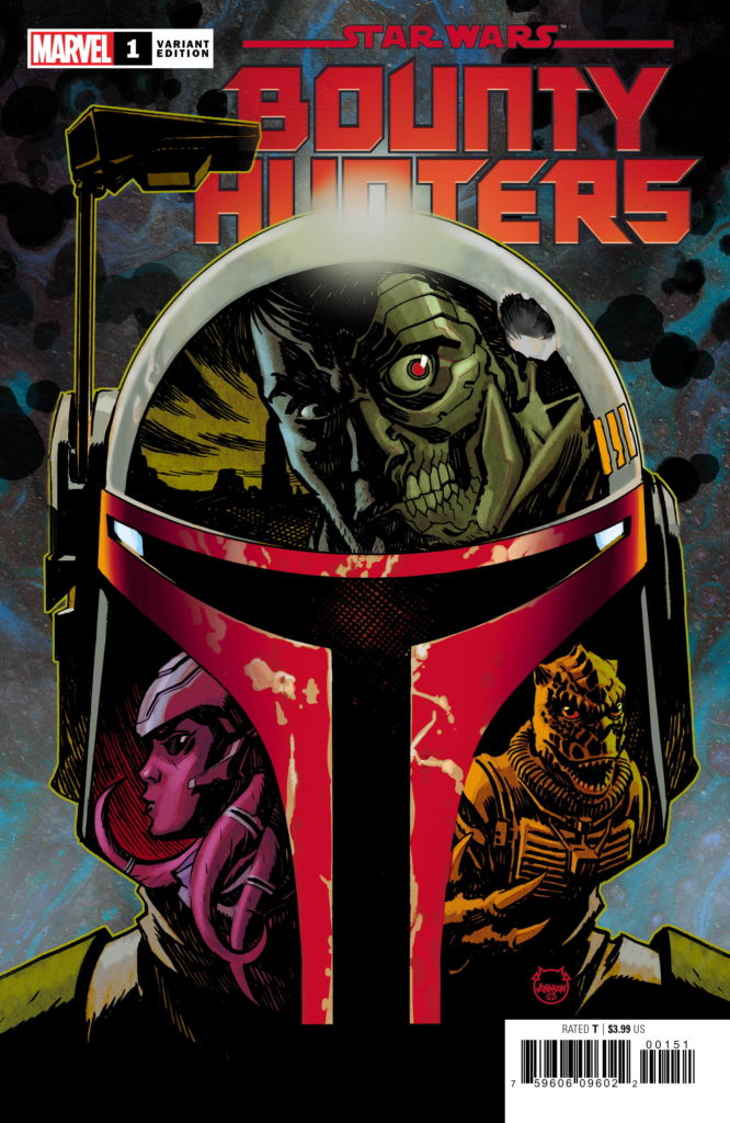 Bounty Hunters #1 (Dave Johnson Variant Cover) (11.03.2020)