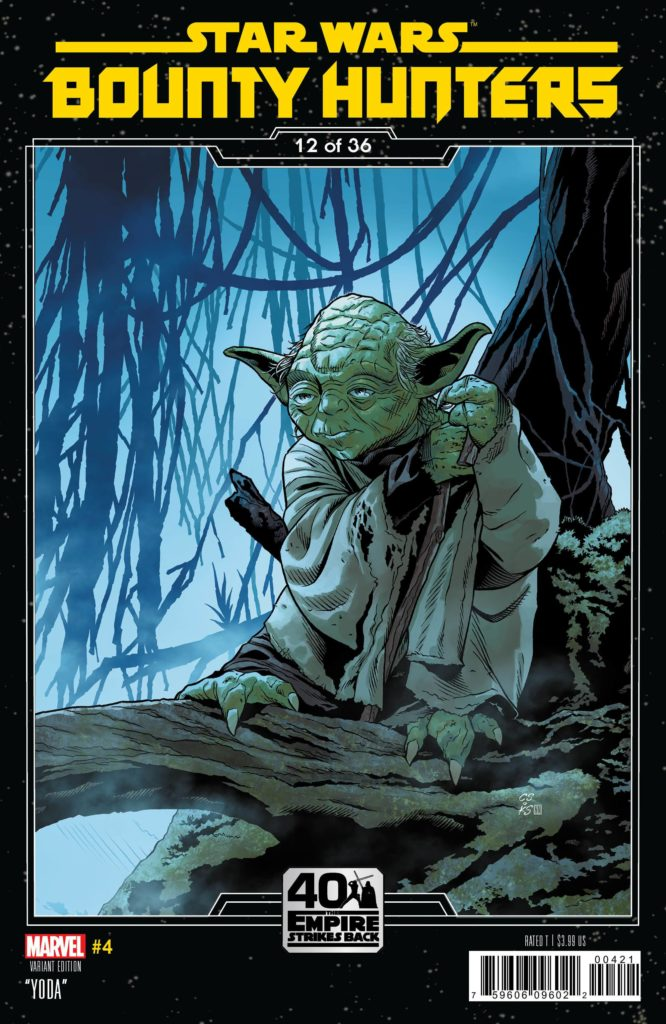 Bounty Hunters #4 (Chris Sprouse The Empire Strikes Back Variant Cover 12 of 36) (19.08.2020)