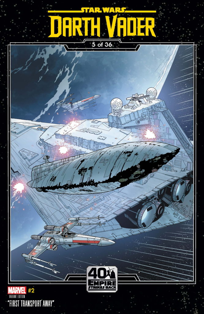 Darth Vader #2 (Chris Sprouse The Empire Strikes Back Variant Cover) (11.03.2020)