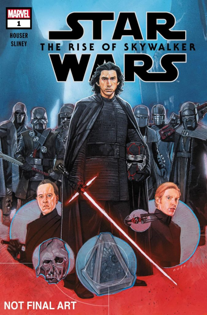 Star Wars: The Rise of Skywalker #1 (vorläufiges Cover von Phil Noto)