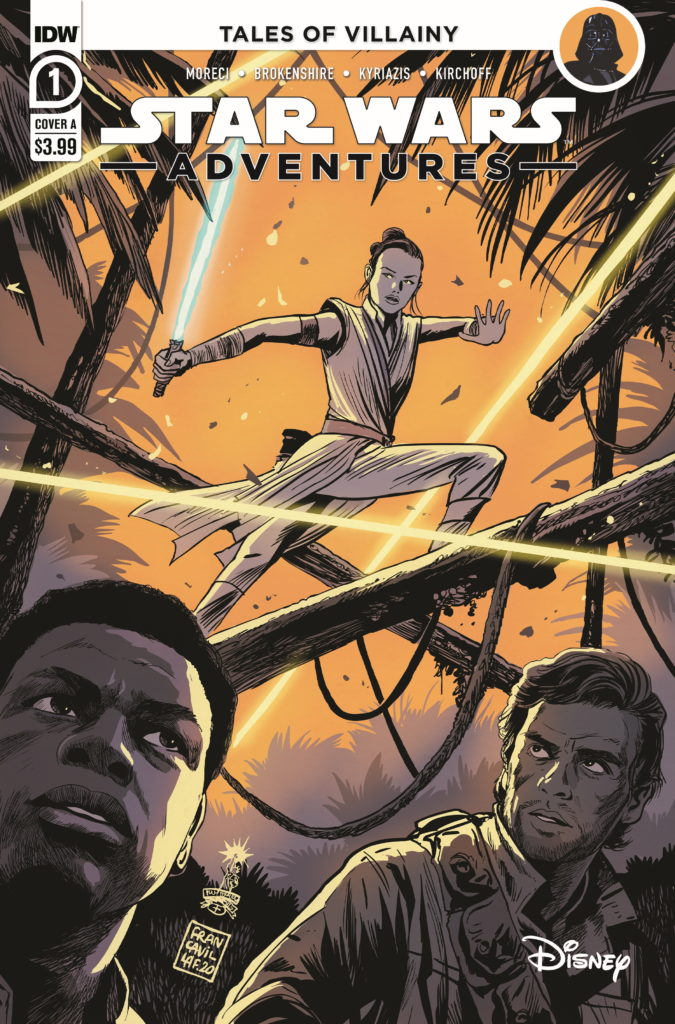 Star Wars Adventures #1 (Cover A by Francesco Francavilla) (07.10.2020)