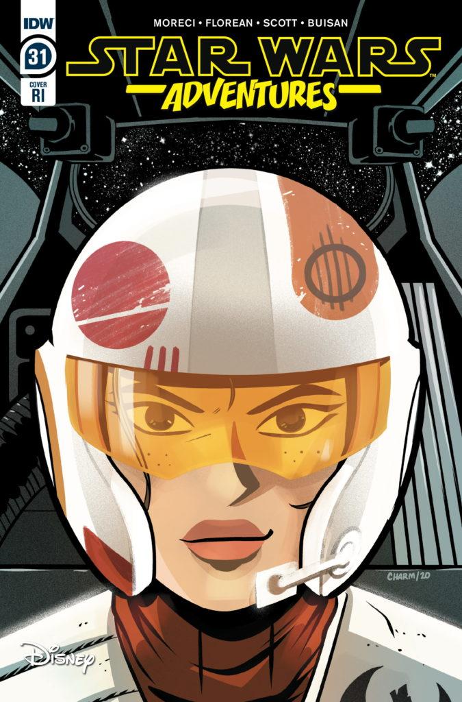 Star Wars Adventures #31 (Derek Charm Variant Cover) (18.03.2020)