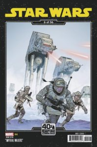 Star Wars #4 (Chris Sprouse The Empire Strikes Back Variant Cover 6 of 36) (18.03.2020)